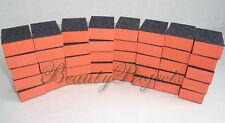 (40pcs) 2 sided 80/80 Grit Sanding Mini Small Buffer Blocks Wholesale Black Grit