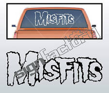 """HUGE Misfits decal for car or wall! 16""""x43"""" Any Color"""