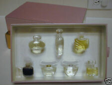 Estee Lauder 8 pc PURE Perfume gift set Dazzling Silver Gold Beautiful Youth Dew