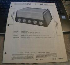 KNIGHT 5 CHANNEL 80 WATT AUDIO AMPLIFIER MODEL: 93SZ695 (SAMS PHOTOFACT 354-10)