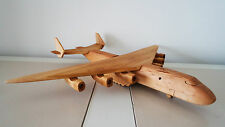Wooden toy, plane AN-225 - vintage style, handmade, High quality