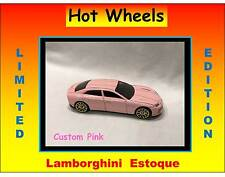 Hot Wheels Custom Pink Lamborghini Estoque Awesome Car