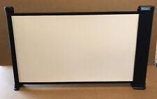 """DA-LITE 26"""" Portable Tabletop MOVIE PROJECTION SCREEN iPhone Projector Da Lite"""