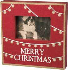 Primitives By Kathy Merry Christmas Box Frame