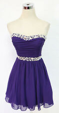 WINDSOR Purple Homecoming Dance Party Prom Dress 7 - $80 NWT