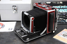 Linhof Master Technika Red 50 Jahre Anniversary Camera Body Rare!!