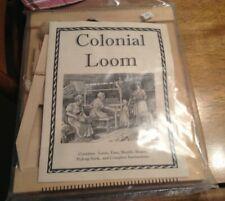 New ListingThe Colonial Loom Handheld Wooden Hard Wood Frame Weaving Loom Craft Kit 2004