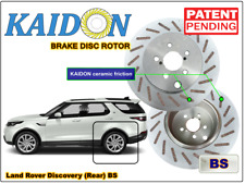 """Land Rover Discovery brake disc rotor KAIDON (Rear) type """"BS"""" / """"RS"""" spec"""