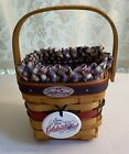Longaberger 1998 Join Our Celebration 25th. Anniversary Bee Basket Combo - NEW