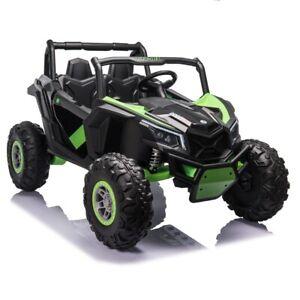 24V Beach Buggy Infinity Electric Ride on car UTV - Green  -  Pre Order ETA 25th