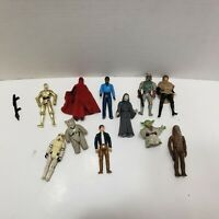 Vintage Star Wars Figure Lot 11 Figures From 1977 to 1995 Kenner LFL Hong Kong
