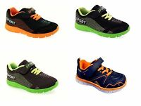 Childrens Kids Boys Girls Sports Running Trainers Gym Shoes Casual Size 9-3