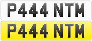 PRIVATE CAR REG CHERISHED NUMBER PLATE P444 NTM ROLLS ROYCE PHANTOM
