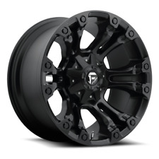 (4) 20x9 Fuel Matte Black Vapor Wheels 8x170 For 2003-2019 Ford F-250 F-350