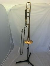 O'Malley Open Wrap Tenor Trombone With F Attachment Excellent Step -Up/ beginner