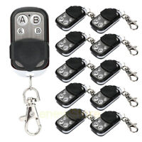 Universal Electric Garage Door Cloning Remote Control Key Fob 433mhz Gate Opener