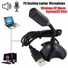Universal USB Stand Mini Desktop Microphone Mic For PC Desktop Laptop US