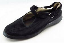 Mephisto Size 10.5 M Black Round Toe Mary Jane Leather Wmn