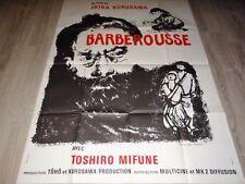BARBEROUSSE Akira Kurosawa  toshiro mifune  rare affiche cinema