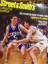 STREET & SMITH'S COLLEGE PREP BASKETBALL MAGAZINE---1993-94 ISSUE