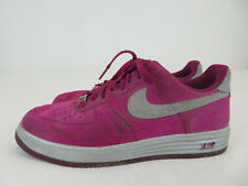Nike Lunar Force 1 Air Force Men's Size 11 (616774-600) Raspberry Red/Silver