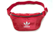 adidas Originals Waist Bag Hip Sack Red Zipper Casual Bag Rucksack NWT ED5876