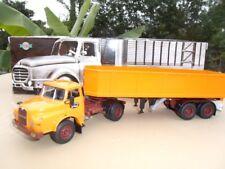 SAVIEM 19-280  HBT Camion Semi Remorque Benne Haute   1/43 Neuf en Boite
