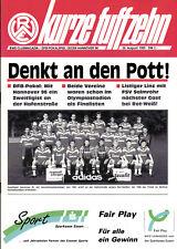 DFB-Pokal 95/96 Rot-Weiß Essen - Hannover 96 / FSV Salmrohr (RL)