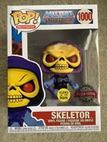 Skeletor Glow GITD MOTU Funko Pop Vinyl New in Mint Box + Protector In Hand