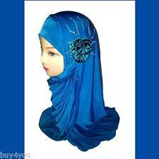 Foulard de tête avec Strass Islam Port Du Voile Jade Femme Musulmane Hijab