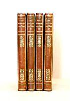 Swift, Les quatre Voyages de Gulliver, eaux-fortes Lalauze, 4 vol, Jouaust 1875