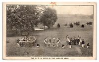 Early 1900s The B.O.H. Boys in the Jubilee Year Postcard