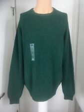 Izod green cotton sweeter new l large