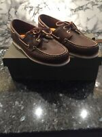 Timberland boat shoes brown UK 9