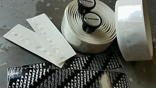 LOOK Bar Tape (NEW) Road Bike Handlebar (WHITE) + Bar Plugs (NEW)