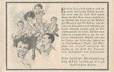 Y4925 Zahnpasta ODOL - Illustrazione - Pubblicità d'epoca - 1927 Old advertising
