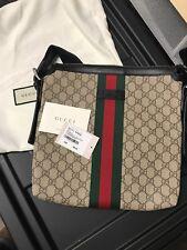 Gucci GG Canvas Large Messenger Bag (NWT)
