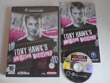 Tony Hawk's American Wasteland Nintendo Gamecube Game Boxed Tested PAL UK