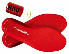 ThermaCell Heated Insoles Shoe Boot Foot Warmer Rechargeable Medium Ths01-M
