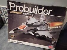 New Mega Bloks Probuider Carbon Series #3269: Fighter Jet Airplane: Box Creased