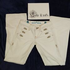 SANG REAL MODELO JEANS PRINCESS ADELA WHITE COLOR ONLY THE CHOSEN SIZE 27