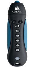 32GB Corsair Padlock 3 USB3.0 Flash Drive - Black, Blue