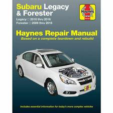 Subaru Legacy 2010-16 & Forester 2009-16 Haynes Manual 89102