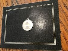 New Listing1983 Franklin Mint Grammy 25 year souvenir sterling pendant With Card Unopen