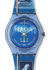 Swatch Gent Access Magic Blue SKZ119 Neu Ovp