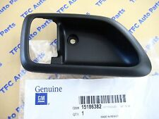 Chevy GMC Colorado Canyon LH Drivers Side Front Door Handle Bezel Black OEM New & Car \u0026 Truck Interior Door Handles for Chevrolet Colorado | eBay
