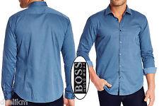 NWT Hugo Boss Black Label By Hugo Boss Slim Fit Plaid Pattern Sport Shirt Sz XXL