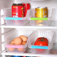 Storage Collecting Box Basket Kitchen Refrigerator Food Organizer-Rack