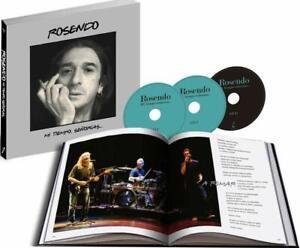 Rosendo - Mi Tiempo Señorías…(Libro+2CD+DVD) Pack/Box set-LEÑO-OBUS