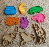 Vintage Hutzler New York Set of 6 1993 Noah's Ark Cookie Cutters with 3 extra.